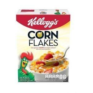 Corn Flakes Kelloggs Caja 530 gramos