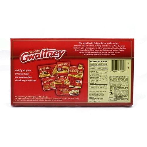 Gwaltney Tocino de Cerdo 3 pk / 454 g /1 lb